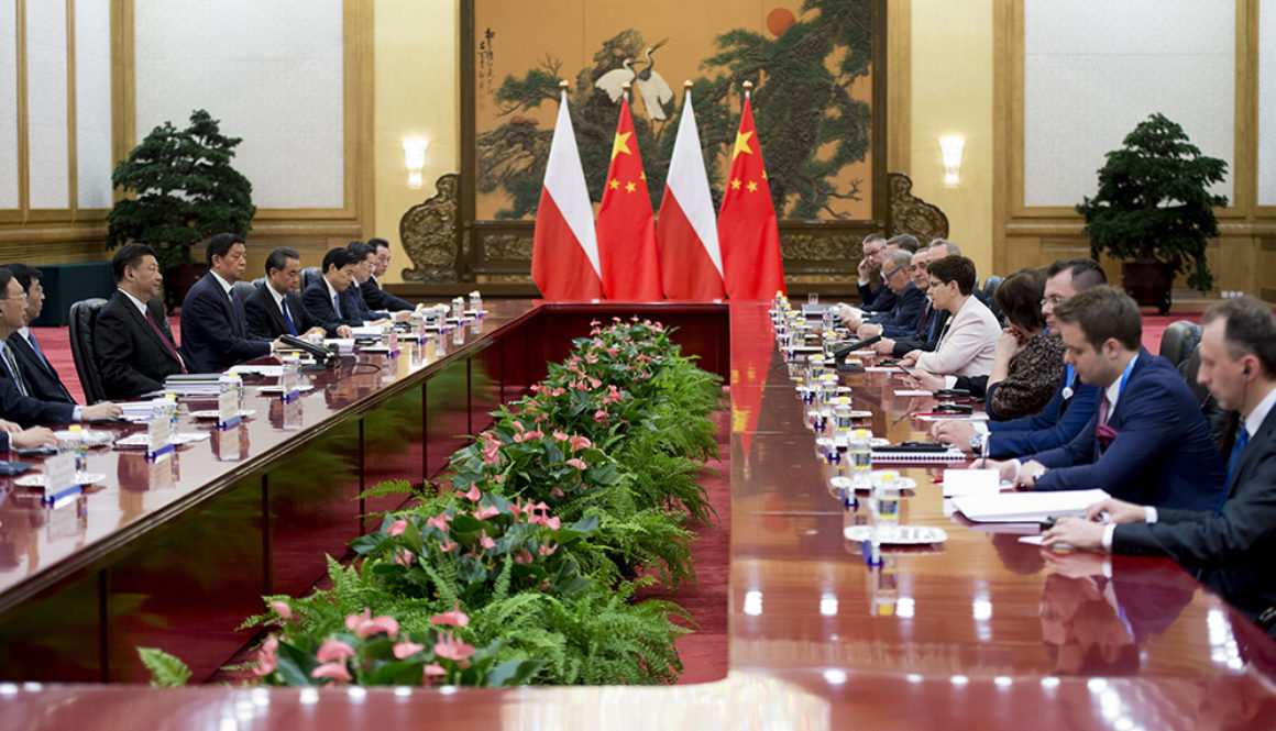 Polish Prime Minister's delegation in China (May 2017); photo: P. Tracz / KPRM