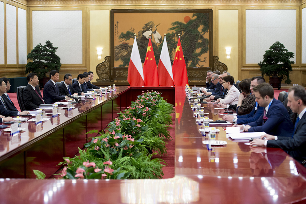 Polish Prime Minister's delegation in China (May 2017); photo: P. Tracz / KPRM