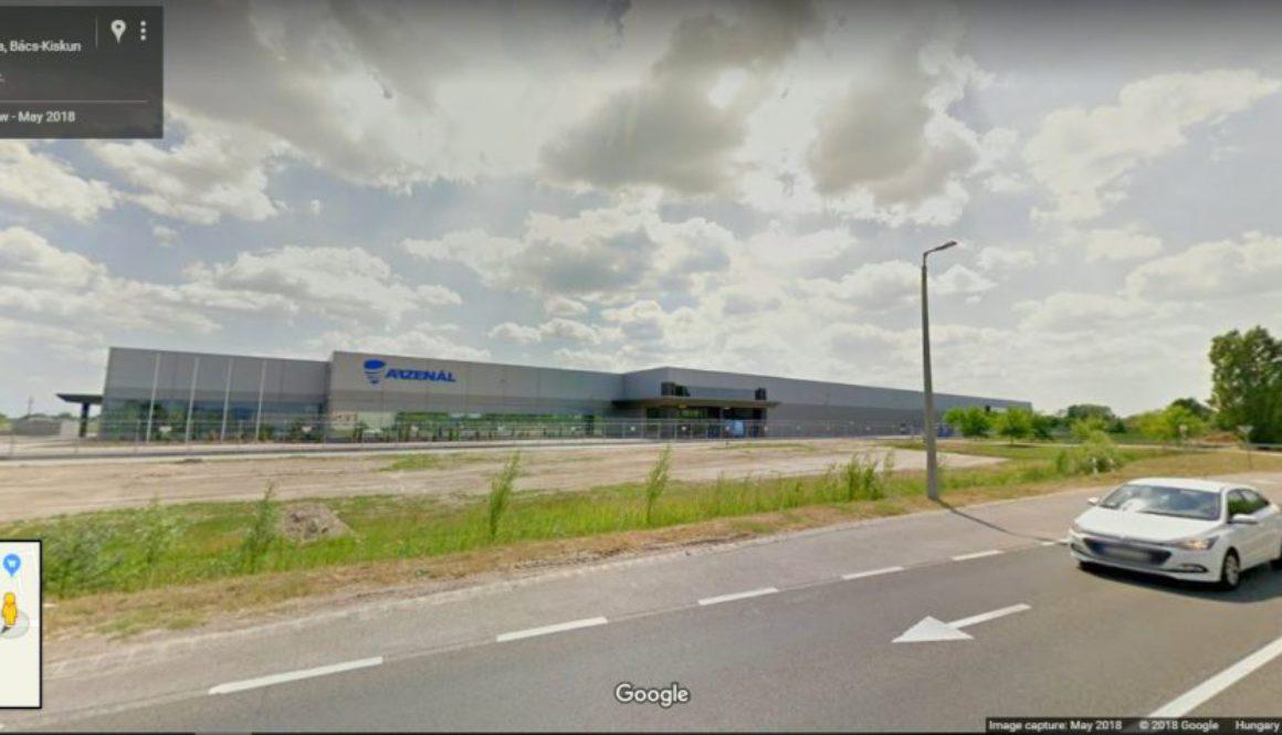 Google Streetview, Arzenál