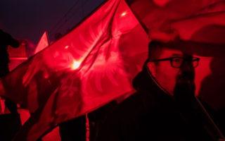 Independence Day March in Poland; photo: Wojciech Grzędziński