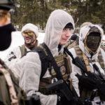 Military training in Orzysz, 2019, Poland (phot. Wojciech Grzędziński)