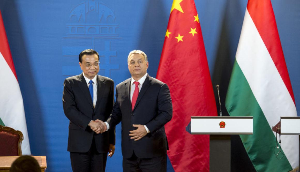 PM Viktor Orban and Chinese Prime Minister Li Keqiang Photo by: Károly Árvai / kormany.hu (2017)