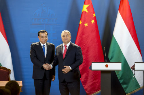 PM Viktor Orban and Chinese Prime Minister Li Keqiang Photo by: Károly Árvai / kormany.hu (2017)