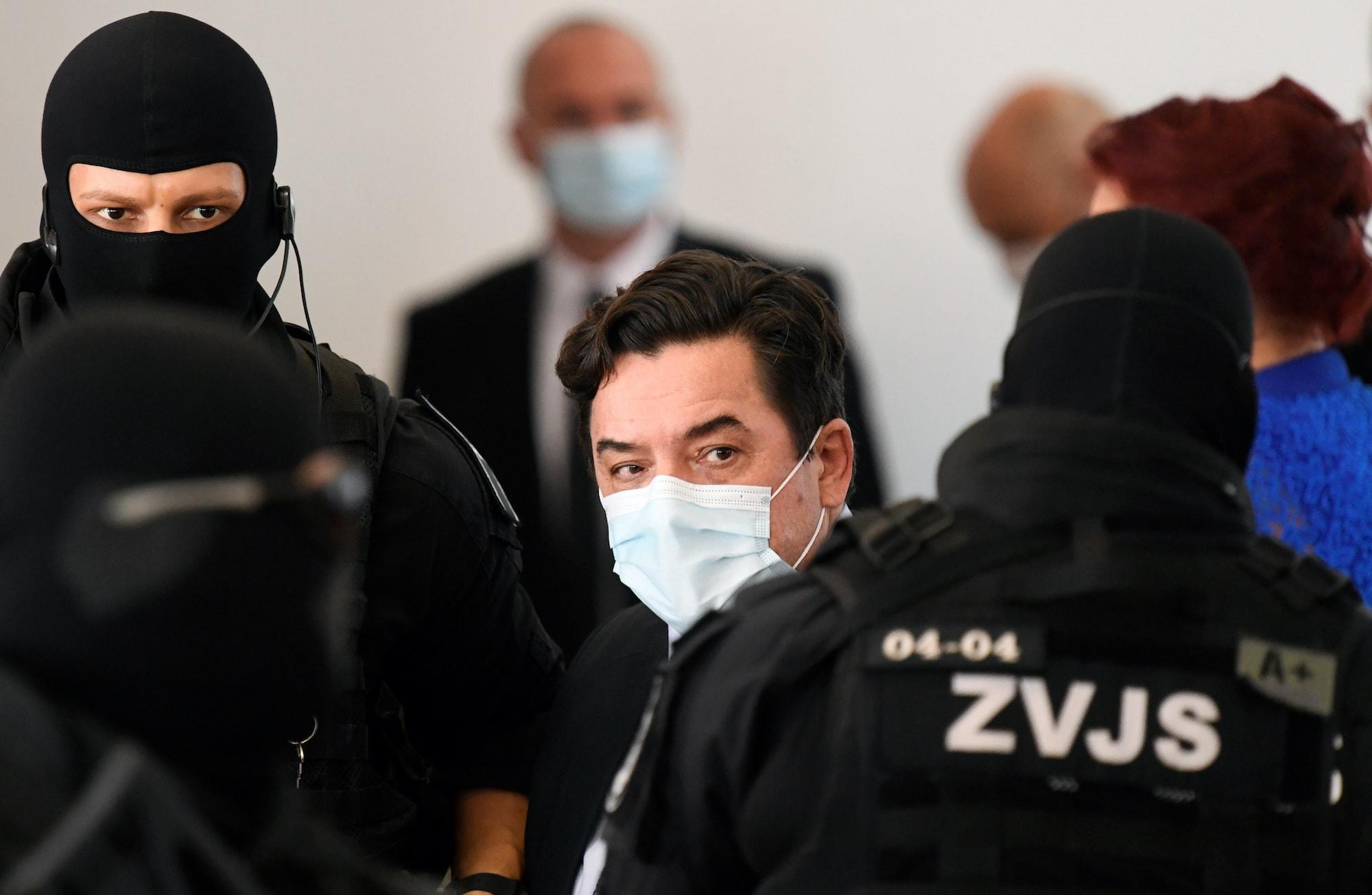 Verdict on Slovak businessman Marian Kocner in Pezinok