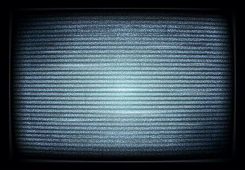No,Tv,Signal,On,Retro,Televisor,,Interference,,Television,Noise.
