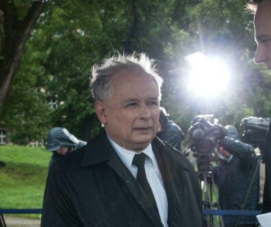 Kaczynski we Wroclawiu