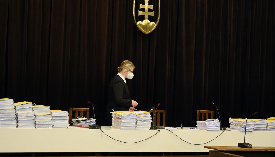 Public hearing for Marian Kocner and Tomas Szabo at the Slovak Supreme Court