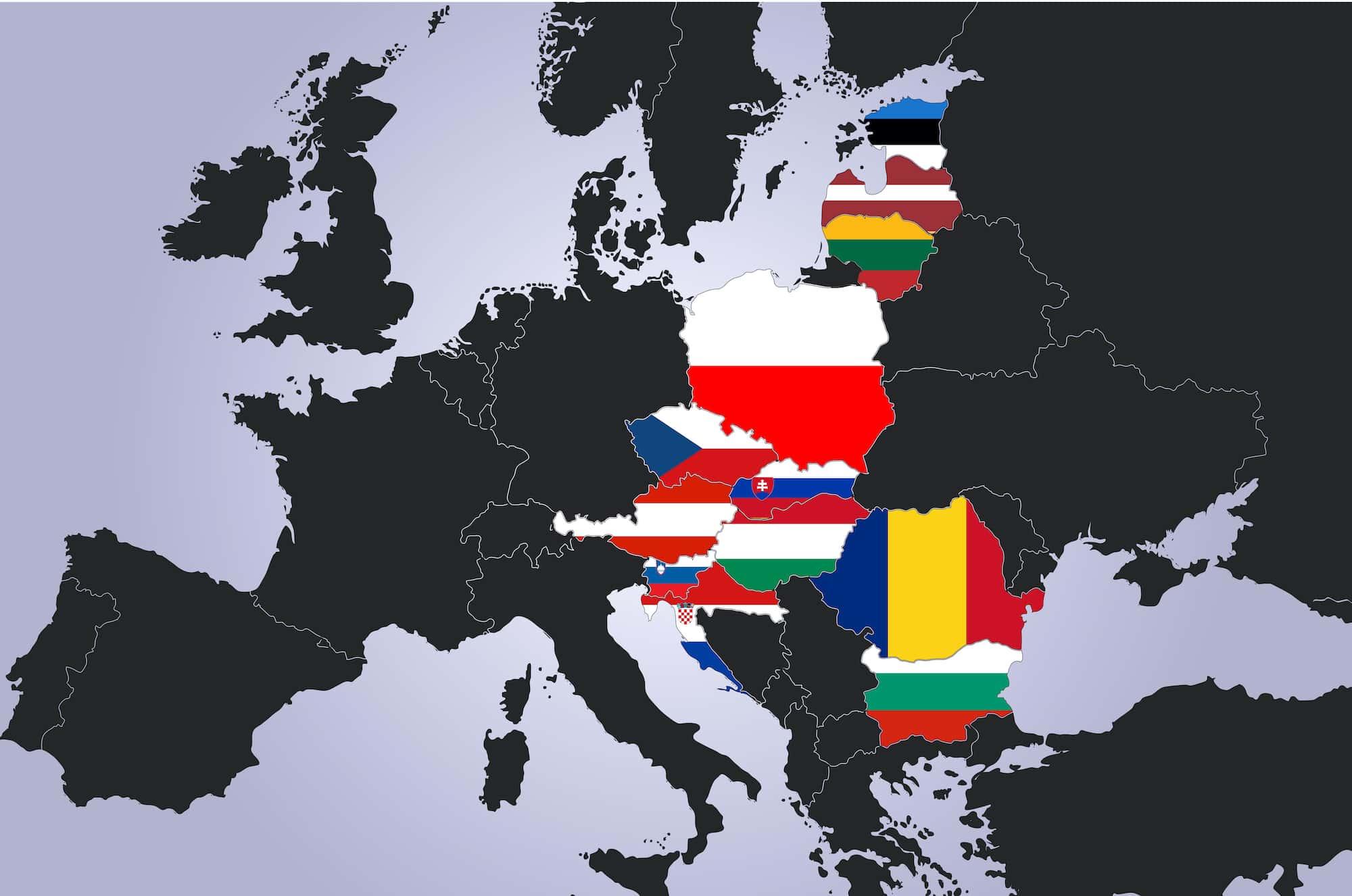 Flags,Of,European,Countries,-,Three,Seas,Partnership.